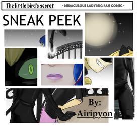 MLB FanComic. The little bird's secret -Sneak Peek
