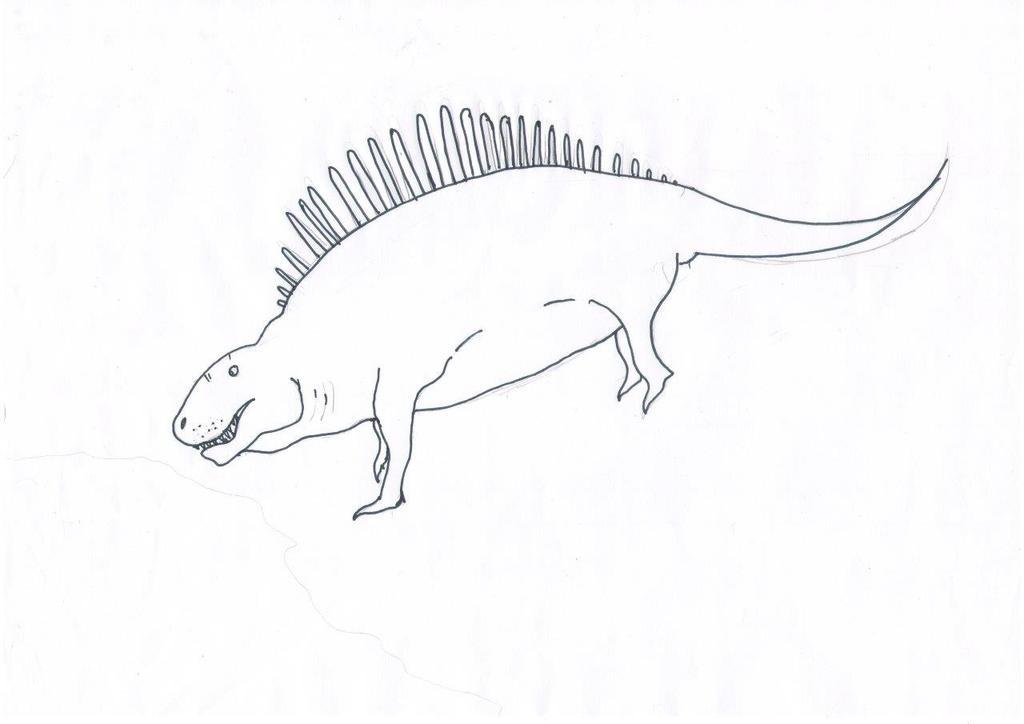 Dimetrodon by NickBrown27
