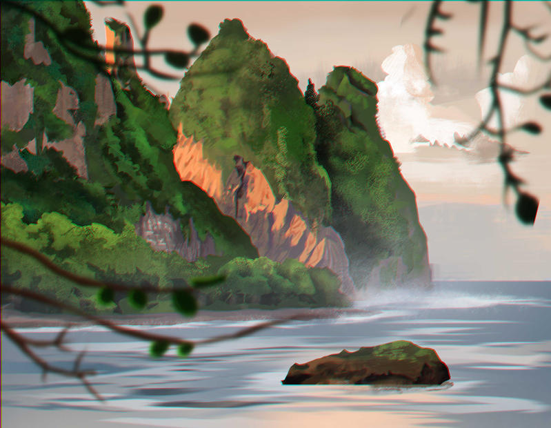 Environment study -2 by Si73x