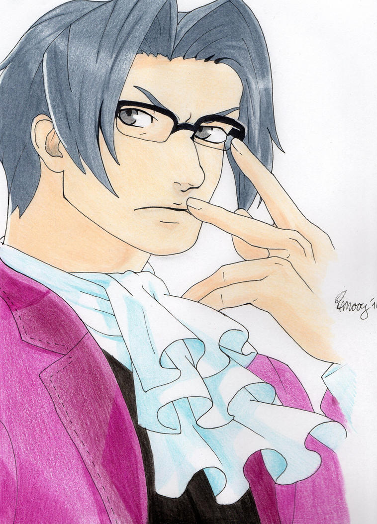 Miles Edgeworth - Ace Attorney by PKlovesDW