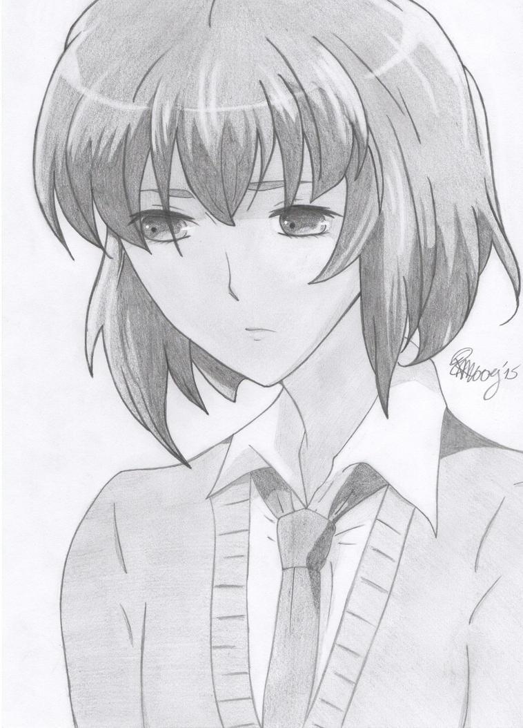 Nageki Fujishiro - Hatoful Boyfriend by PKlovesDW