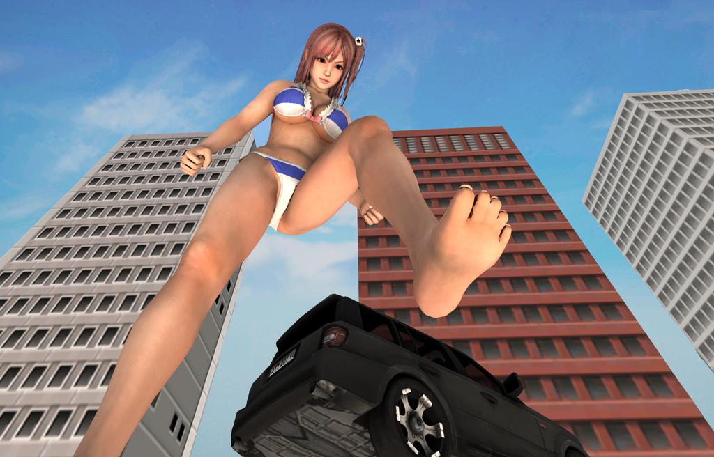Giantess Honoka (34) by gts69