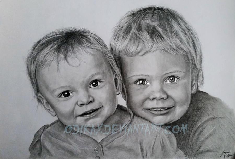 Bennett und Tessa by Odikay