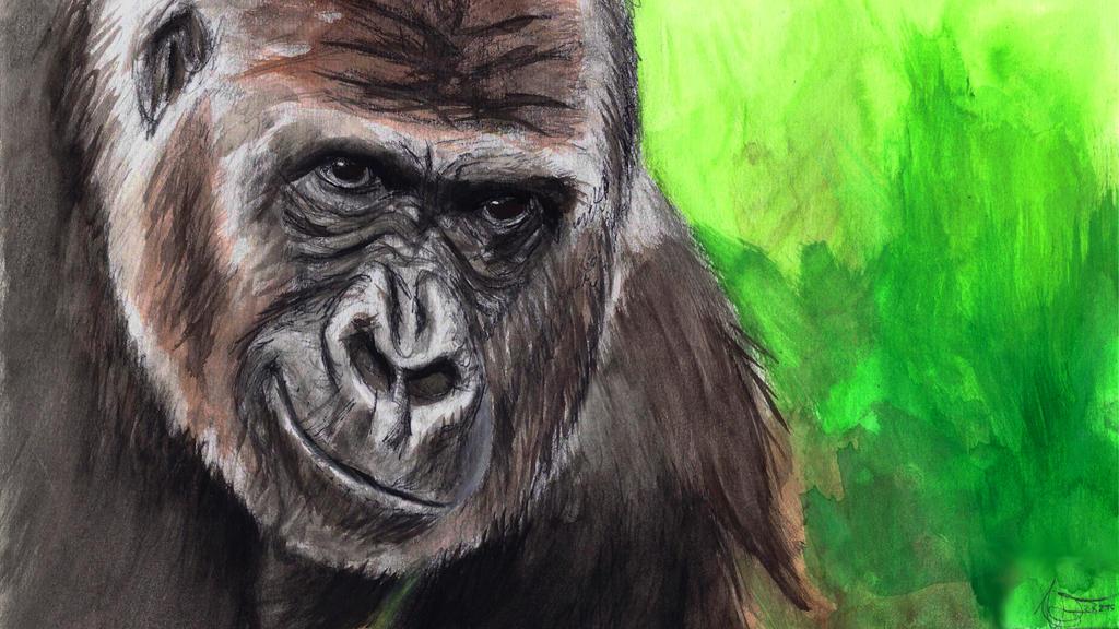 Monkey Study 5.1 by Odikay