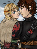 HTTYD - HiccStrid by TheCyberZombie