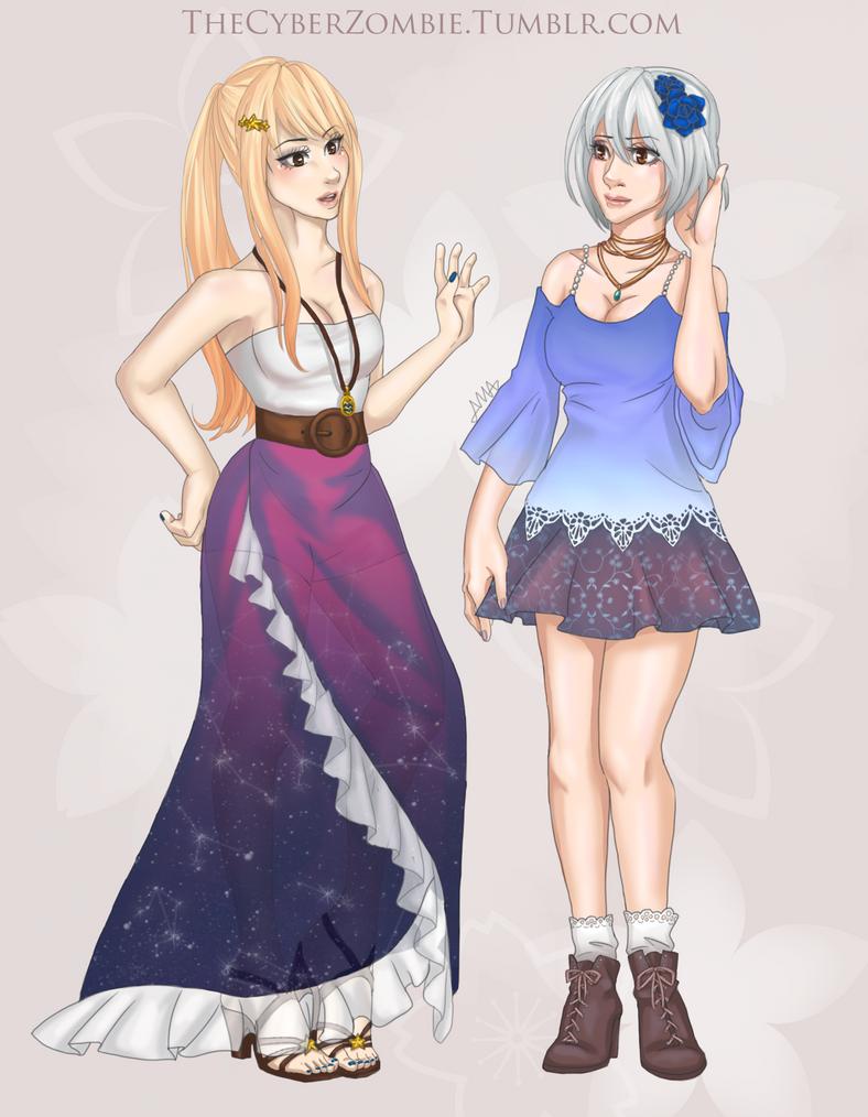 Fashionistas by TheCyberZombie