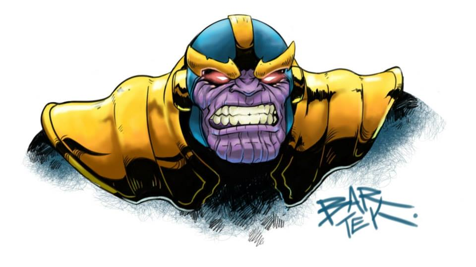 Thanos by Bar69Tek