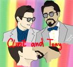 Clint and Tony