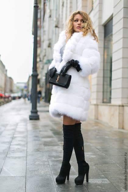 Fur coat tg 17 by Amarant25