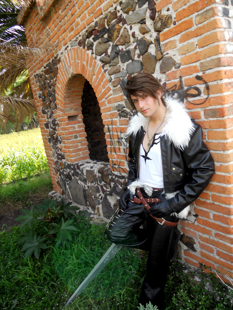 Squall Dissidia II by alsquall