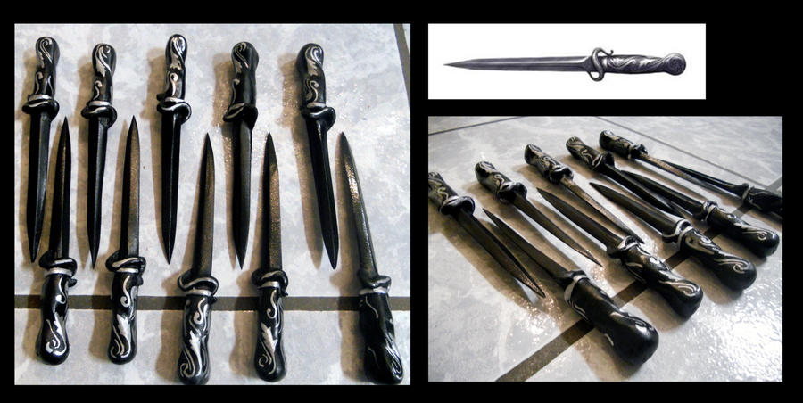 Assassins Creed II The Throug Knives By Alsquall On DeviantArt