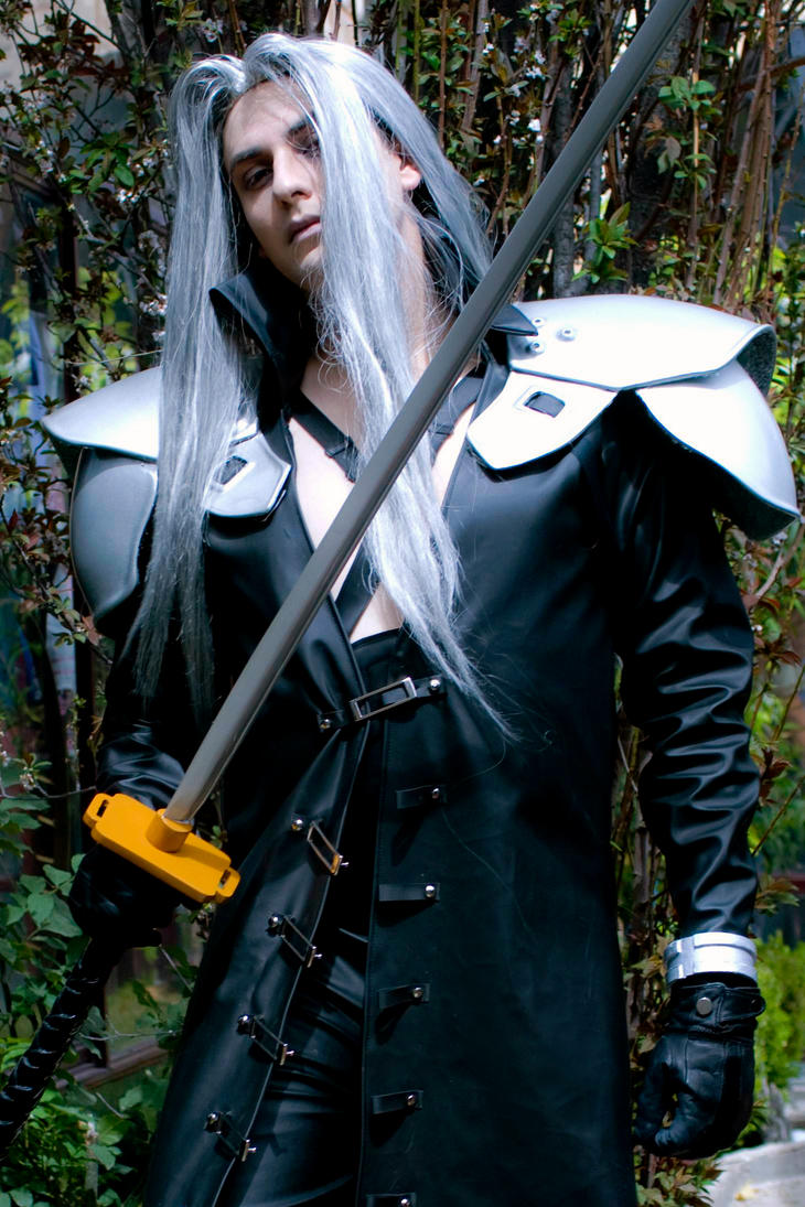 Final Fantasy Sephiroth Cosplay Sephiroth VII b...