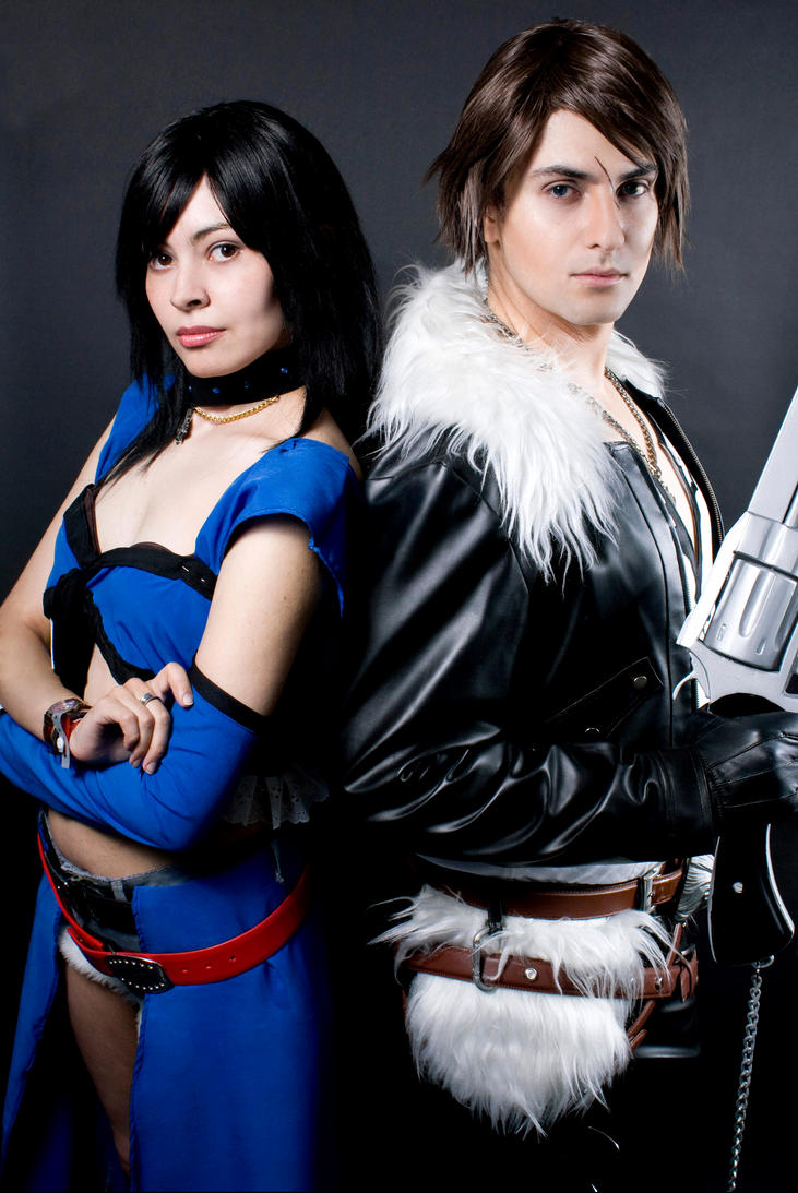 Squall And Rinoa Pictures Squall And Rinoa Dissidia by