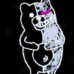 Chalkboard Monokuma