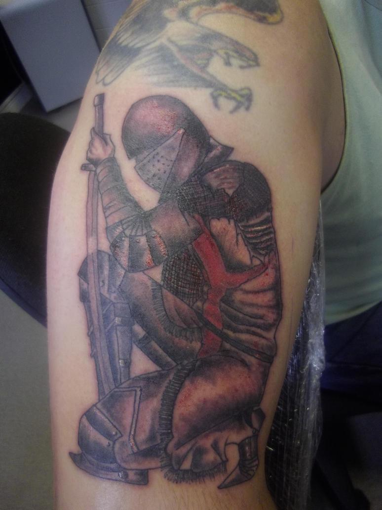 st george tattoo by dazskin69 on deviantart