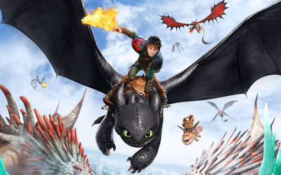 Hiccup and Toothless - HTTYD2 - Cosplay Manip by AlexanDrake89