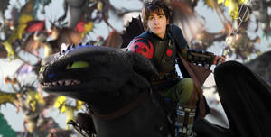 HICCUP and TOOTHLESS - HTTYD2