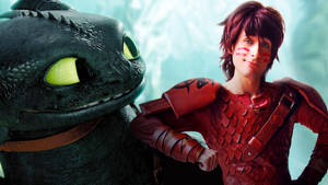 Hiccup Haddock and Toothless - Race to the Edge