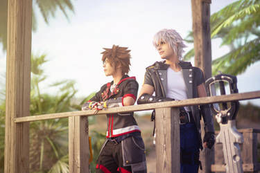 Riku and Sora - Kingdom Hearts 3