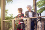 Riku and Sora - Kingdom Hearts 3