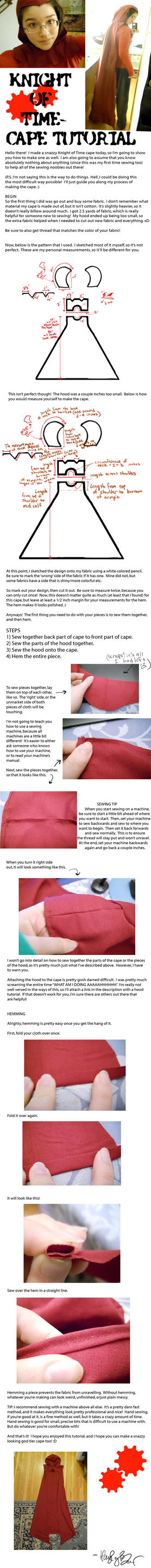 Knight of Time Cape: Tutorial by HABanime