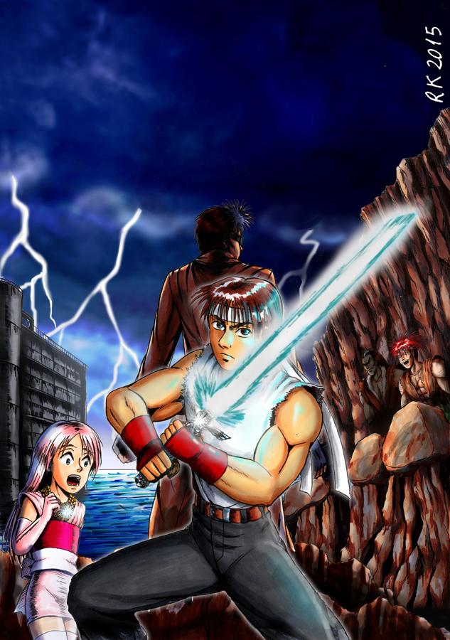 Justice Blades: Desert Gladiators by robertokohama