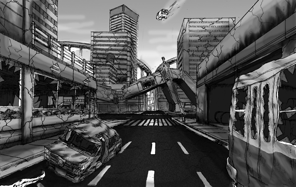 destroyed city 2 by ro...