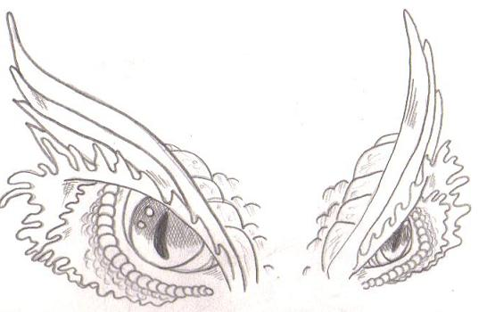 Eye to draw dragon an how vexacia dragons dragon eyes drawings of by eyes
