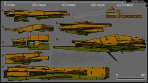 Runner - heavy freighter fleet -