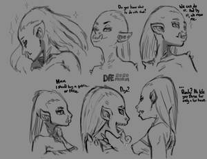Trolls of Ziggurat -sketch-