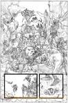 Secret Avengers, pencils by Matteo Scalera