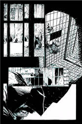 Batman Pencils by Gregg Capullo inks by Curiel by lobocomics