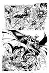 BATMAN BY BAGLEY INKS BY CURIEL