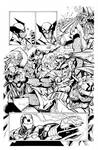 Avengers by Sandoval, inks by Curiel