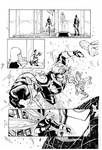 Avengers by Khoi Pham, inks by Curiel