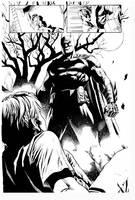 Batman By Jack Herbert inks Curiel by lobocomics