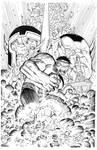 Hulk By Romita Jr inks Curiel