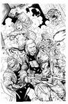 Suicide Squad by Syaf, inks Curiel