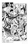 Captain America By Ross inks by Curiel