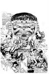 Modok By Finch inks Curiel