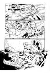 Hulk By Bennett, inks by Curiel by lobocomics