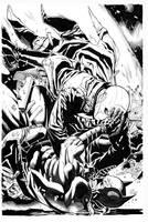 Batman Vs Red Hood By Mendonca inks Curiel by lobocomics