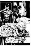 Batman And Clayface 1  By Mendonca Clean