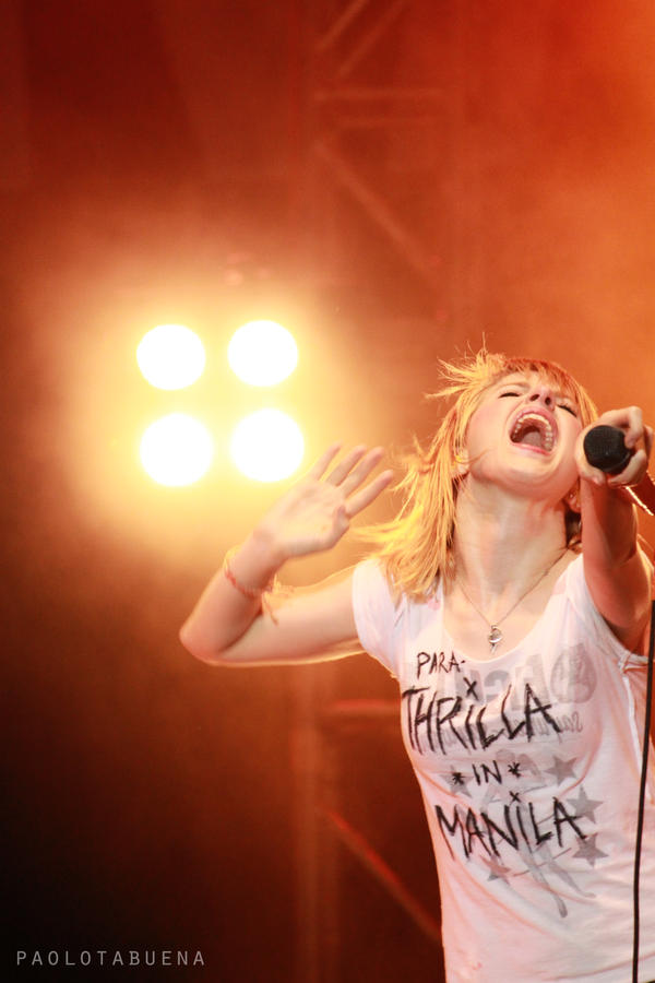 Paramore - Hayley Williams by syncopatedrhythms