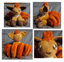 Vulpix by mysteriousmage