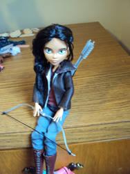 Monster High Katniss Everdeen by mysteriousmage