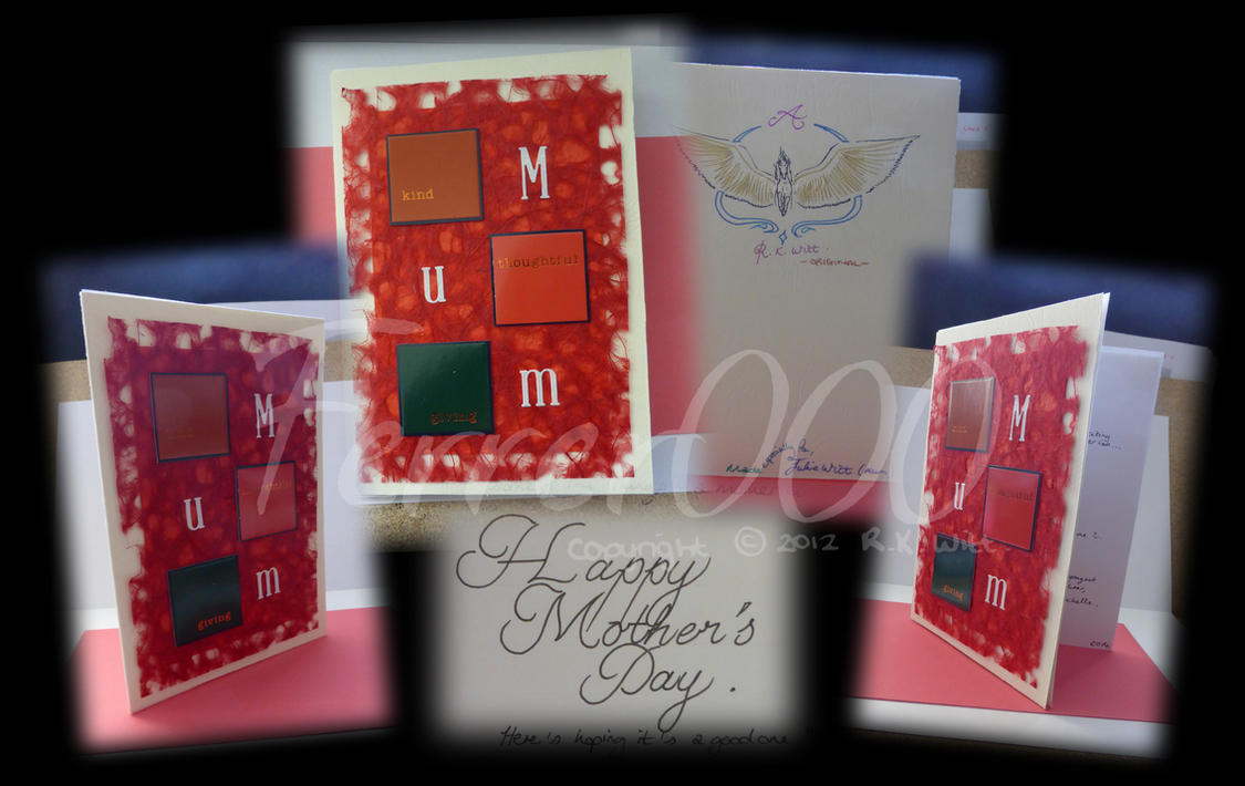 Mother's day card design 2014 by FerrerTriple0