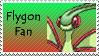 Flygon Stamp