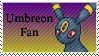 Umbreon Fan Stamp by rossmallo