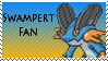 Swampert Fan Stamp by rossmallo